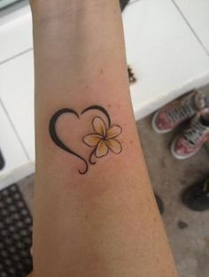 First tattoo! Mother daughter one <3 by iris-flower