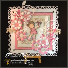 Morning all you gorgeous Cheery Lynn Fans and welcome to the Sunday Inspiration with me Tamara. #cheeryld #poshcatcrafts Dies used: Lace Square Heart - DL189; Fanciful Flourish - B117; Mini Fanciful Flourish - B117S; Sweet Williams - D137; Queen Anne's Lace Border - B160; Buttons3 - D123 http://www.cheerylynndesigns.com