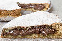 Torta Nutella e Nocciole   Ricetta senza farina, lievito e burro