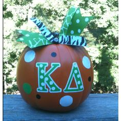 Cute pumpkin decorating idea!