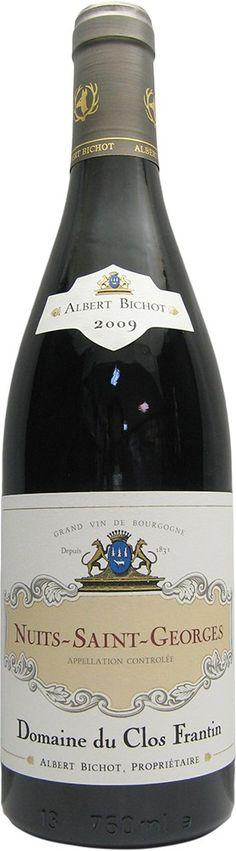 Domaine du Clos Frantin (Albert Bichot)- Nuits-Saint-Georges 2009  http://www.vente-privee-idealwine.com/products.php?ref=215-06