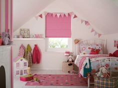 nursery room roman blinds - Google Search