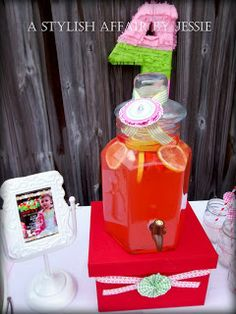 strawberry shortcake birthday party ideas
