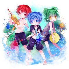 Nagisa Shiota shirtless   Tags: Anime, Efu, Assassination Classroom, Kayano Kaede, Akabane Karma ...