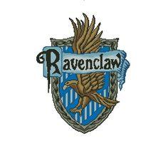Ravenclaw Crest  Cross stitch pattern PDF by CrossStitchForYou