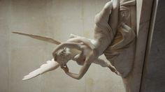"""Cupid and Psyche"" Antonio Canova - Louvre Marble"