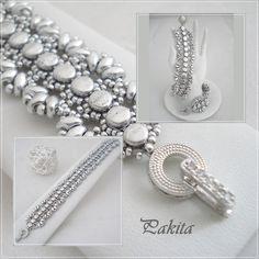 Pattern bracelet PAKITA por PASSIONPERLINE en Etsy