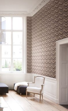 We provide a wide range of wallpaper for your interior home decoration. Improve your decoration design! Modern Wallpaper, Geometric Wallpaper, Of Wallpaper, High Quality Wallpapers, Mid Century House, Zig Zag, Classic Style, Wall Decor, Living Room