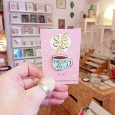 Happy snowy Tuesday! @samanthaeynon's tea pins have been stocked up and today definitely calls for lots of hot drinks!  . . . #fuelledbytea #teadrinker #teaaddict #tealover #teapin #Pinstagram #pinspinspins #PinGameStrong #pingame #pingameonpoint #shoplocal #shopsmall #nottingham #supportindependent #supportindies