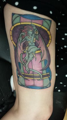 Completed my Demona Tattoo