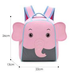 Cartoon Car Backpacks for Years Old Children Fashion Cute Kindergarten Kids School Bags Boy Schoolbag School Bags For Boys, Cartoon Elephant, Diy Bags Purses, Cute Backpacks, 3d Cartoon, Mini Bag, Kindergarten, Kids Fashion, 5 Years