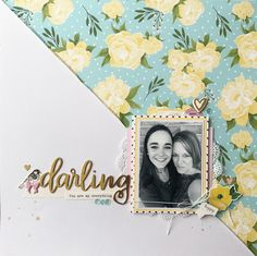 Layout created for Scrap the Challenge using Felicity Jane, Maggie Holmes, and Hazelwood products