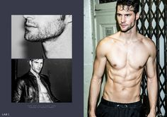 Tomas Skoloudik Strips Down for Lab A4 Shoot