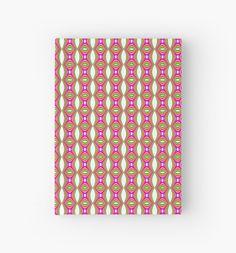 Hardcover Journal Mod Oval Pattern #redbubble #notebooks #gifts