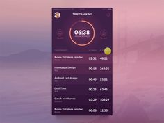 Dribbble - Time.me app by Virgil Pana  #mobile #ui #ux #design #inspiration #navigation #app #interface #ios #android #flat #smartphone #visual #animation #motiondesign #gif
