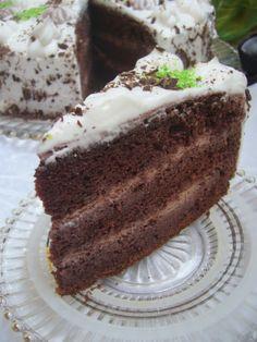 Adela Zilahi: Tort cu menta Cake, Desserts, Food, Pastel, Deserts, Kuchen, Cakes, Dessert, Meals