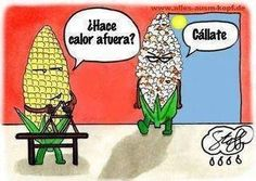 Spanish jokes for kids, chistes para niños #learning #spanish #kids  ¿Hace calor afuera? Calláte.