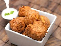Paneer Pakora (Indian Veggie & Cheese Fritters) by Mommy Outside The Box