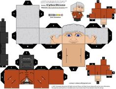Custom Cubeecraft fan art templates of Characters originally from BBC Series Doctor Who and Torchwood. Doctor Who (c) BBC