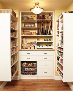 Love the vertical storage!  Cookie sheets and cooling racks are so cumbersome!