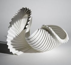 paperart made by Richard Sweeney - seen on upon a fold