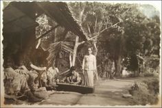 Gadok, Ciawi te Bogor. Foto genomen in maart 1947.