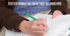 Make your feedback more meaningful by using more description that feeds forward.