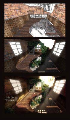 steps concept room