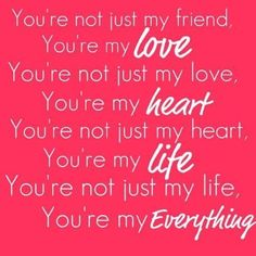 Cute love quotes for him on valentine s day. Cute Love Quotes, Love Husband Quotes, Love Quotes For Boyfriend, Life Quotes Love, Love My Husband, Romantic Love Quotes, Love Quotes For Him, Amazing Husband, Romantic Things