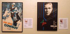The Cowboys & Papillon (Romanian posters) Steve Mc, Western Film, John Wayne, Film Posters, Eastern Europe, Cowboys, Iron, Graphic Design, Display