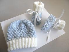 tuto - Layette tricot bb fait main, modèle tricot bebe Crochet Round, Double Crochet, Single Crochet, Easy Crochet, Crochet Hooks, Yarn Over, Vintage Crochet, Wool Yarn, Crochet Stitches