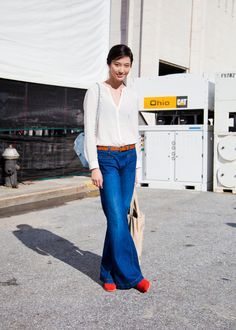 BONAE L'AMOUR - Bonnie Chen (in) Model's Street Style I have...