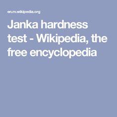 Janka hardness test - Wikipedia, the free encyclopedia