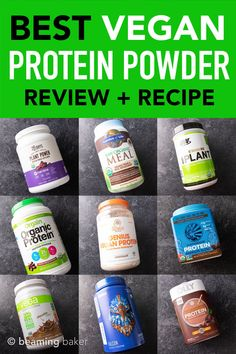 chocolate protein edition beaming powder ranked recipe vegan baker best Best Vegan Protein Powder RANKED Chocolate edition RECIPE Beaming BakerYou can find Protein powder recipes and more on our website Homemade Protein Powder, Best Vegan Protein Powder, Healthiest Protein Powder, Protein Powder Reviews, Baking With Protein Powder, Organic Protein Powder, Protein Powder Shakes, Plant Based Protein Powder, Chocolate Protein Powder
