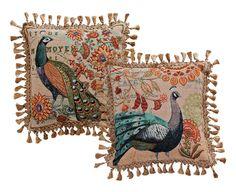 Peacock Pillows | Acorn Online  $34.95