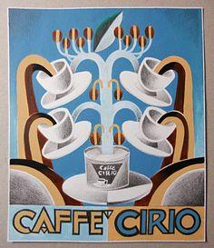 Futurismo pubblicità Caffè Cirio