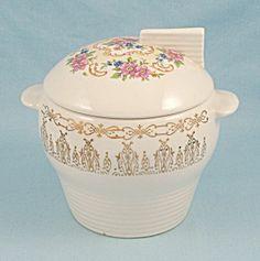 Rose Bower Sugar Bowl, By Sebring