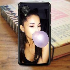Ariana Grande Bubble Gum Pink Nexus 5 Case Nexus 5 Case, Bubblegum Pink, Bubble Gum, Ariana Grande, Sony, Chewing Gum, Gumball