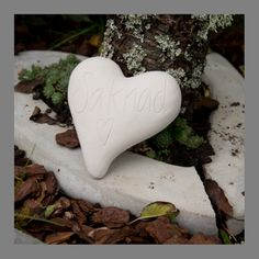 "Heart ""saknad"" (missed) High quality latex mold. Find this heart and loads of others in our webshop http://www.wsochcompany.se"