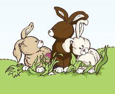 NICI Easter Bunnies:)