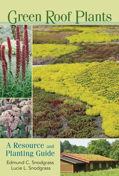Green Roof Plants - apparently this is the green roof bible...written by the…