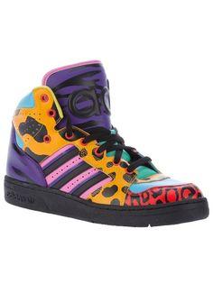 ADIDAS ORIGINALS BY JEREMY SCOTT 'Js Insrinct' Hi Top Sneaker