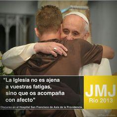 Visita del Papa al H.San Francisco de Asís.
