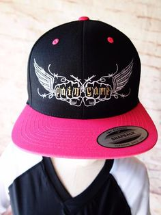 bee25c8538a Pain Game Snapback Cap Women - Pink and Black - Pain Game Snapback Cap