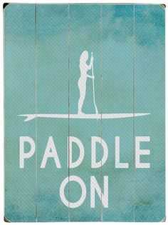 Paddle On Wall Decor