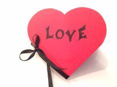 DIY valentinesday kort til din kjære