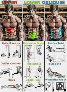 🔥 SIX PACK ABS WORKOUT 🔥Decline Crunches 💥 Technique Initial position: Level the bench bench for press from 30 to 45 degrees depending on the desired compl Fitness Workouts, Abs Workout Routines, Weight Training Workouts, At Home Workouts, Fitness Tips, Health Fitness, Easy Daily Workouts, Planet Fitness, Workout Schedule