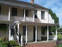 Earp family home, 1861-64, Pella, Iowa.