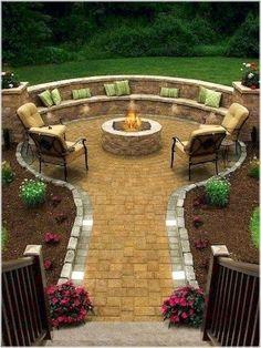 100 Fire Pit Ideas Backyard