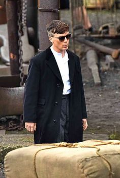 Cillian Murphy on the set of Peaky Blinders at the Black Country Living Museum, Oct 8 2015.